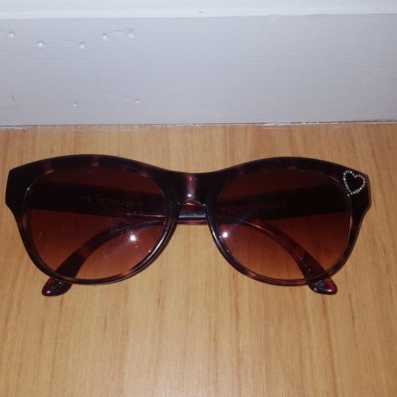 16097baa9bd Betsey Johnson Accessories - Betsey Johnson Cat Eye Tortoise Shell  Sunglasses